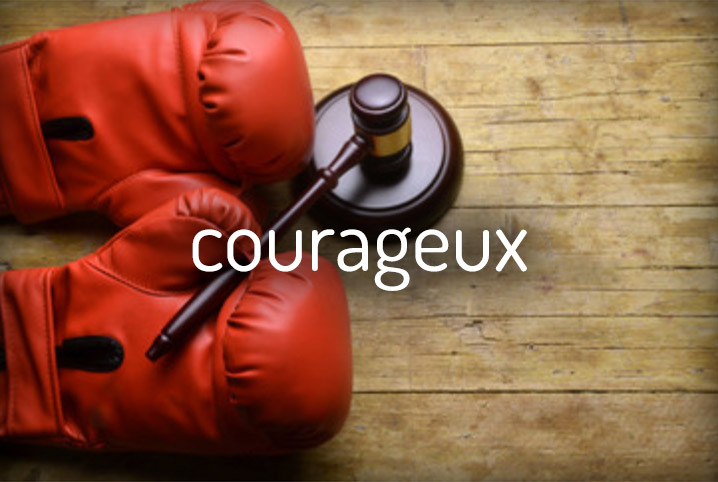 courageux